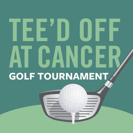 Tee'd off at Cancer Golf Tournament