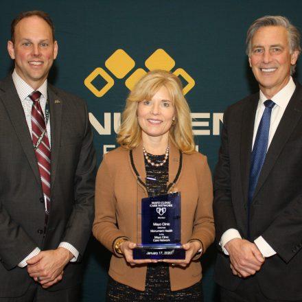 Dr. Brad Archer, Paulette Davidson, Dr. Mark Larson