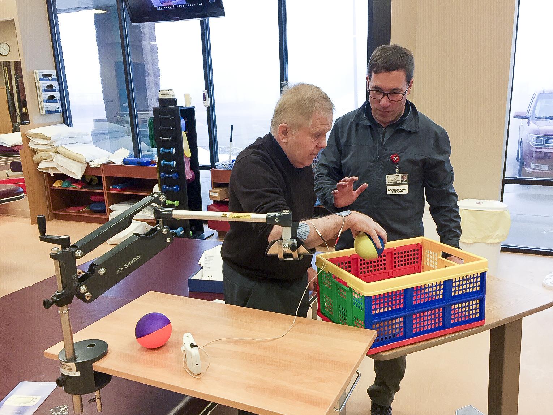 Stroke rehab patient gains appreciation for occupational therapy - Monument  Health کاردرمانی در سکته مغزی