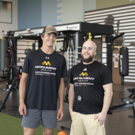 Sports Performance Institute helps prepare hockey player for next goal